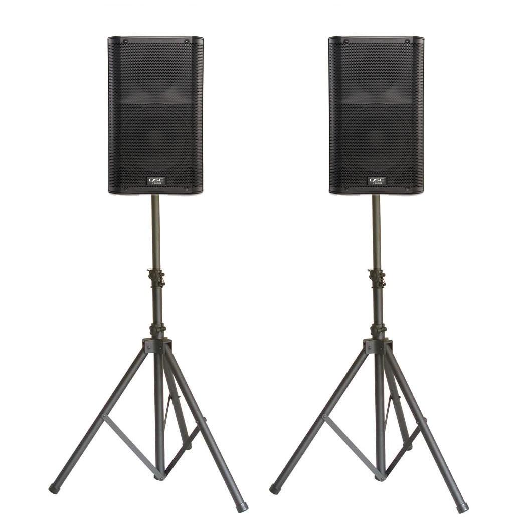 Speakers: Powered & Passive