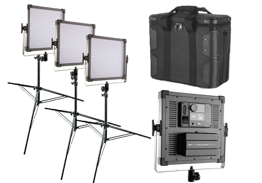 LED Video Light Kits